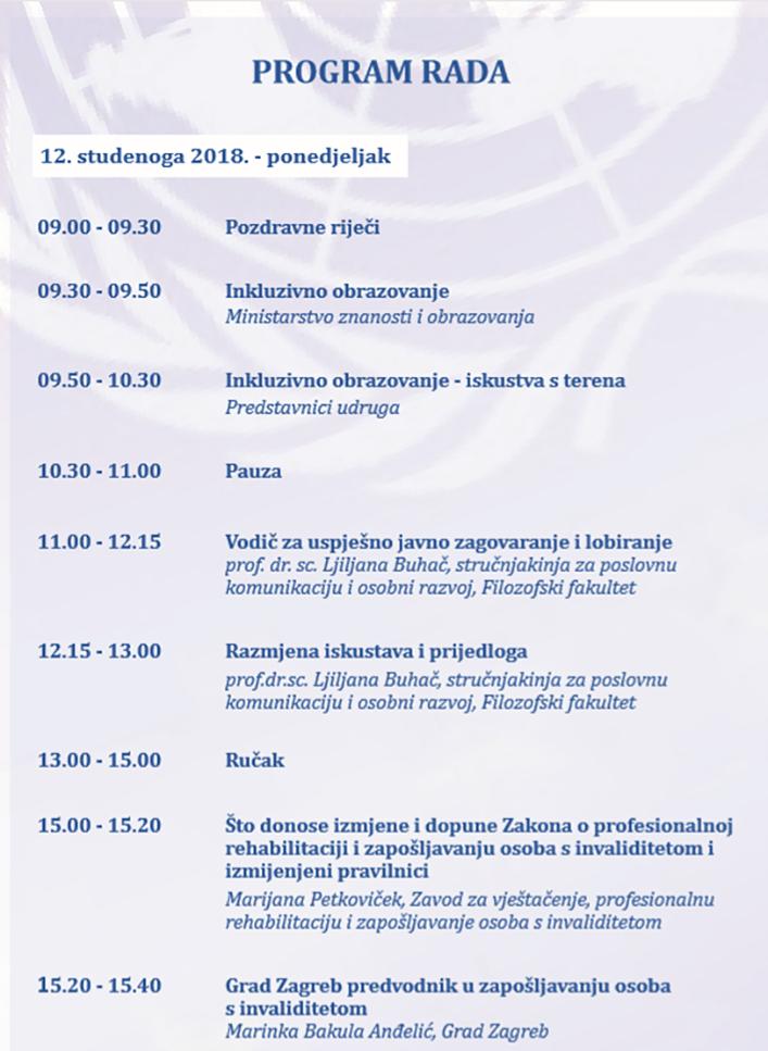 XXIII. Hrvatski simpozij osoba s invaliditetom