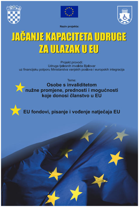 OKRUGLI STOL I RADIONICA - JAČANJE KAPACITETA UDRUGE ZA ULAZAK U EU