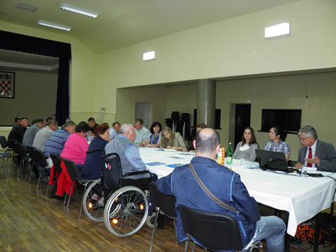 Predavanje-radionica Udruge tjelesnih invalida Bjelovar i Ministarstva zdravstva i socijalne skrbi: KONVENCIJA UN – EDUKACIJA – LOKALNA SAMOUPRAVA